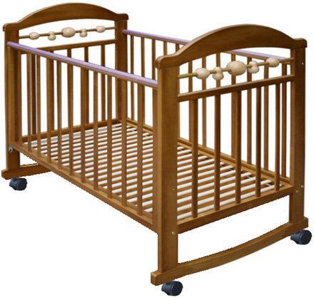 """Детская кровать """"Карапуз М5 """" качалка / без ящика"""