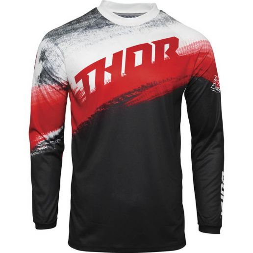 Thor Sector Vapor Red/Black джерси для мотокросса