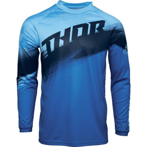 Thor Sector Vapor Blue/Midnight джерси для мотокросса