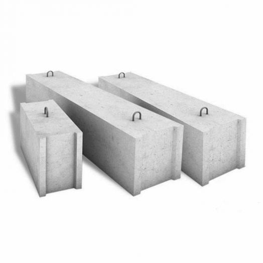 Блок фундаментный стен подвалов ФБС9.6.6т слоеный (ГОСТ13579)