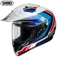 Шлем Shoei Hornet ADV Sovereign, Бело-сине-красный