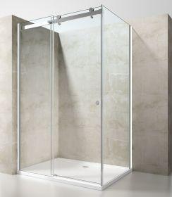 Душевой уголок OportoShower OS11 100x100x190 см Прозрачное стекло 8 мм