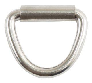 D-кольцо, сталь, 45 мм, со втулкой