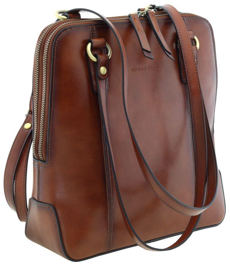 Кожаная женская сумка-рюкзак Bruno Perri L13272/3