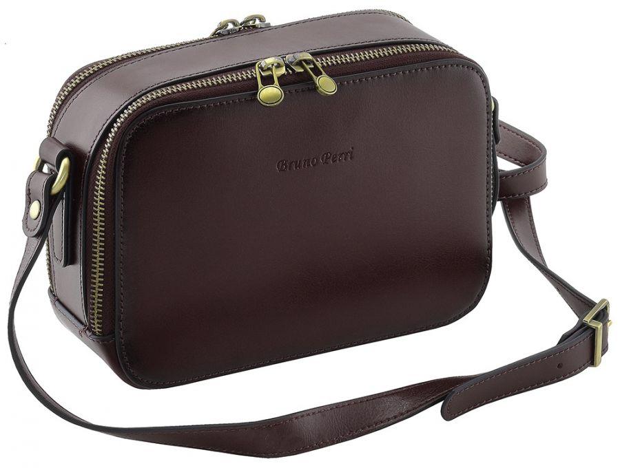 Кожаная женская сумка-клатч Bruno Perri L12286/2