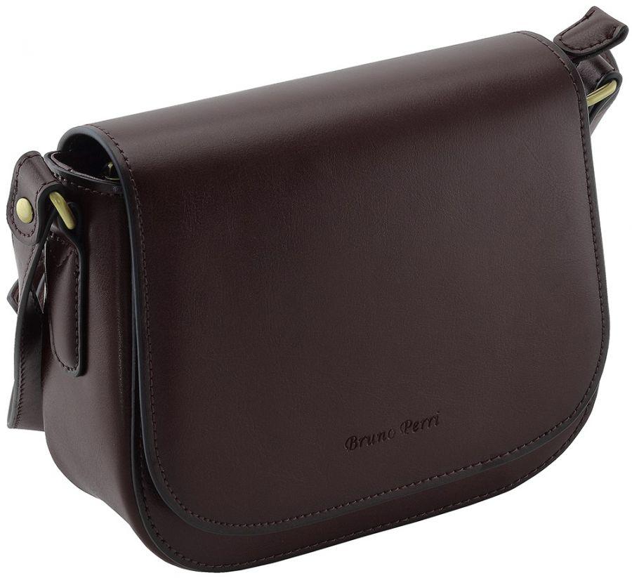 Кожаная женская сумка-клатч Bruno Perri L13296/2