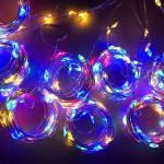Огонек OG-LDG09 гирлянда-штора LED (3х3м,300 ламп,RGB)