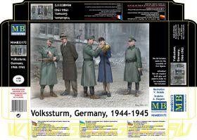Фигуры Фольксштурм, Германия, 1944-1945