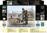 Фигуры Французский солдат, период Второй мировой войны