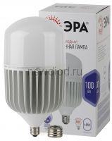 Лампы СВЕТОДИОДНЫЕ POWER LED POWER T160-100W-6500-E27/E40  ЭРА (диод, колокол, 100Вт, хол, E27/E40)