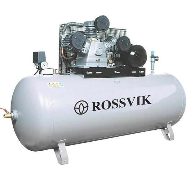 Компрессор поршневой ROSSVIK СБ4/Ф-270.LB50, 690л/мин, 10бар, ресивер 270л, 380В/4кВт