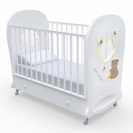 Детская кровать Nuovita Stanzione Honey Bear swing