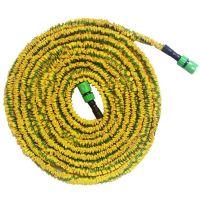 Стрейч шланг для полива XHose (Икс Хоз) с распылителем, Желтый 45 м