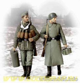 Фигуры Поставки, наконец! Немецкие солдаты, 1944-1945 гг.