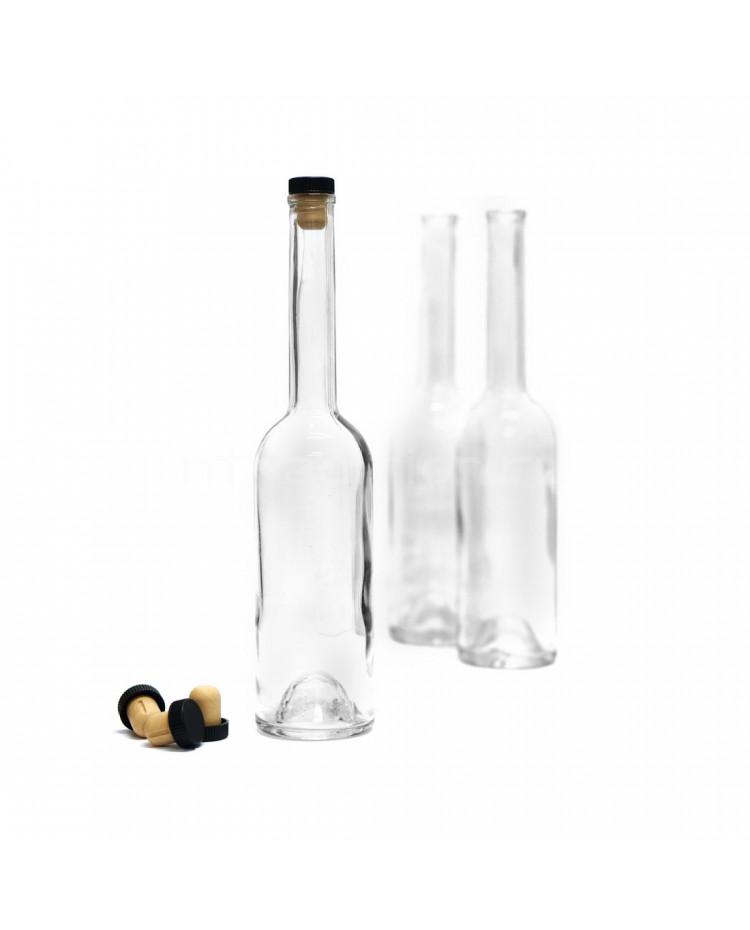 Бутылка Винный шпиль, 0,5 л./ 16 шт. (без пробок)