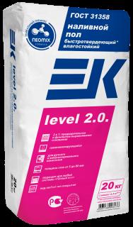 Наливной пол ЕК Level 2.0 (20кг) самонивелирующийся