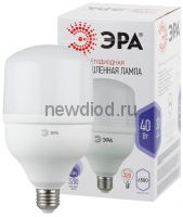 Лампы СВЕТОДИОДНЫЕ POWER LED POWER T120-40W-6500-E27  ЭРА (диод, колокол, 40Вт, хол, E27)
