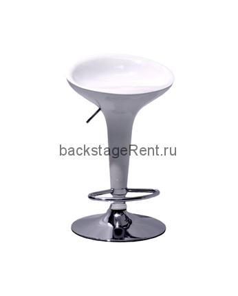 Аренда барного белого стула
