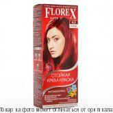 Краска для волос Florex-Super КЕРАТИН 4,3 Рубин, шт