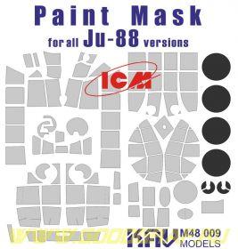Окрасочная маска на остекление Ju-88