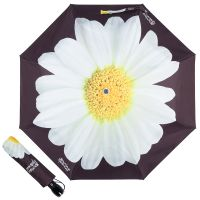 Зонт складной Moschino 7006-OCA Giant Daisy Black