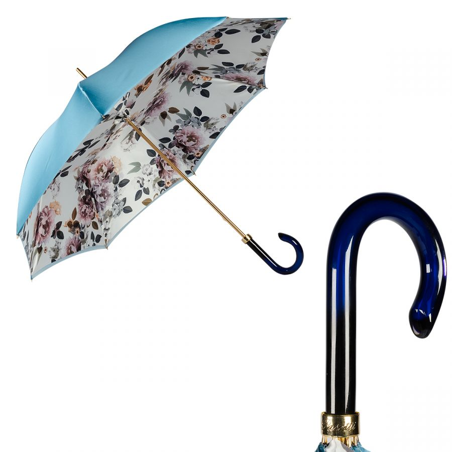 Зонт-трость Pasotti Blu Almond Plastica