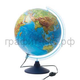 Глобус 32см Globen физико-политический с подсветкой рельефный INT13200233