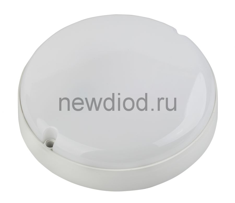 Cветильник светодиодный IP65 18Вт 1440Лм 4000К D175 КРУГ ЖКХ LED SPB-2-18-40K-R ЭРА