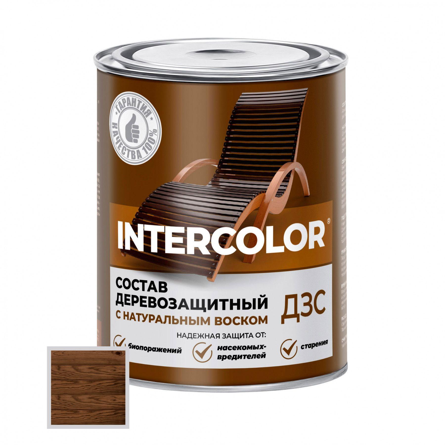 Деревозащитный состав Intercolor