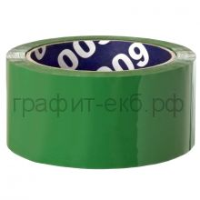 Скотч 48х66 45мкм зеленый Unibob 30488