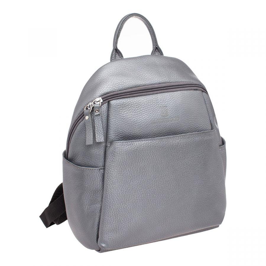 Женский кожаный рюкзак Blackwood Bales Silver Grey