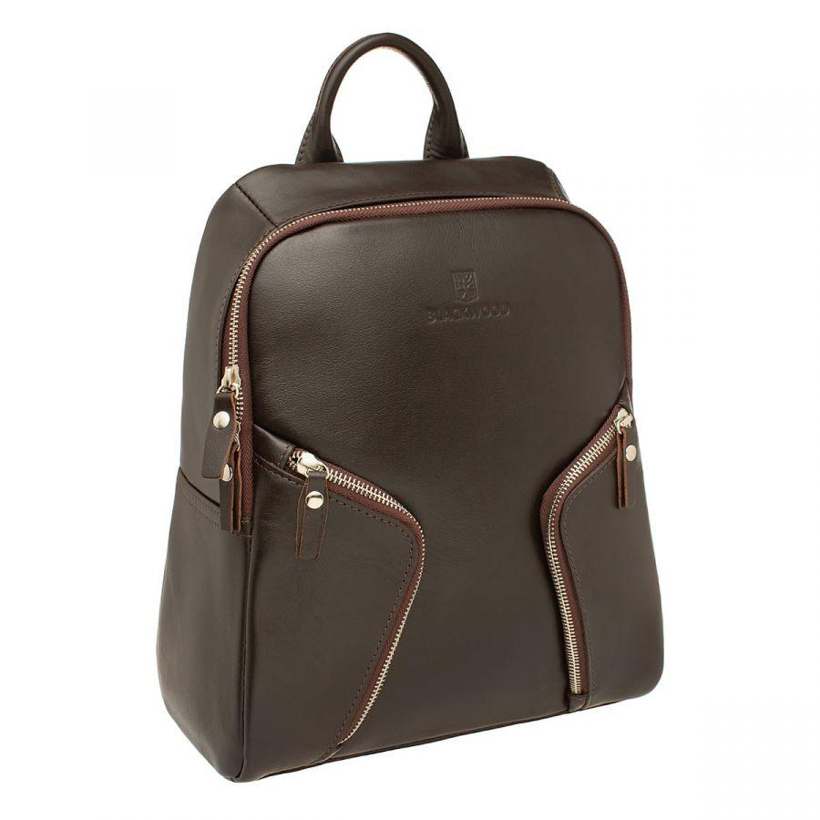 Женский кожаный рюкзак Blackwood Alesia Brown