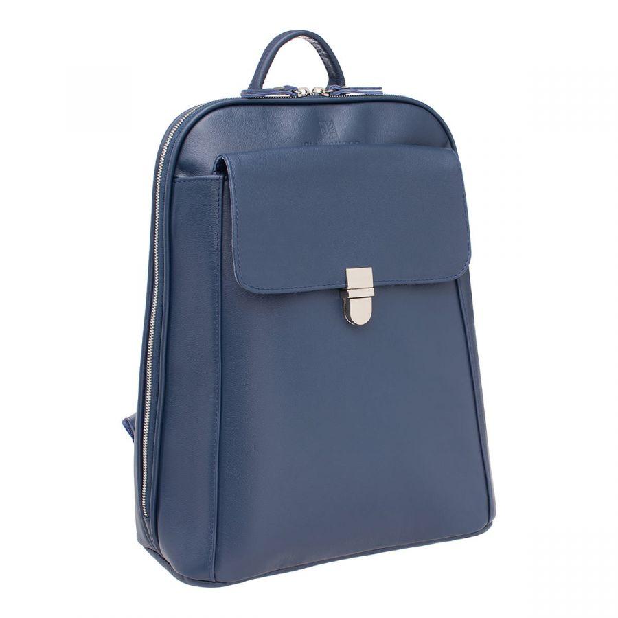 Женский кожаный рюкзак Blackwood Eardley Dark Blue