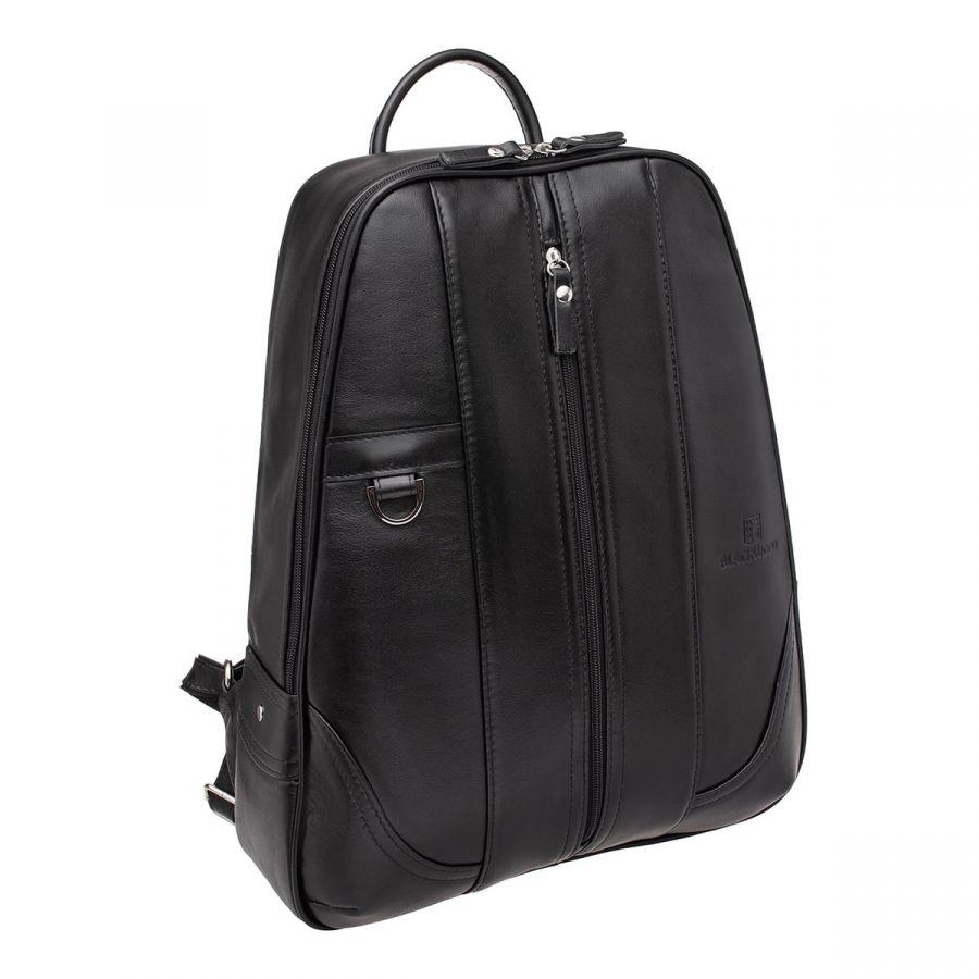 Мужской кожаный рюкзак Blackwood Anfield Black