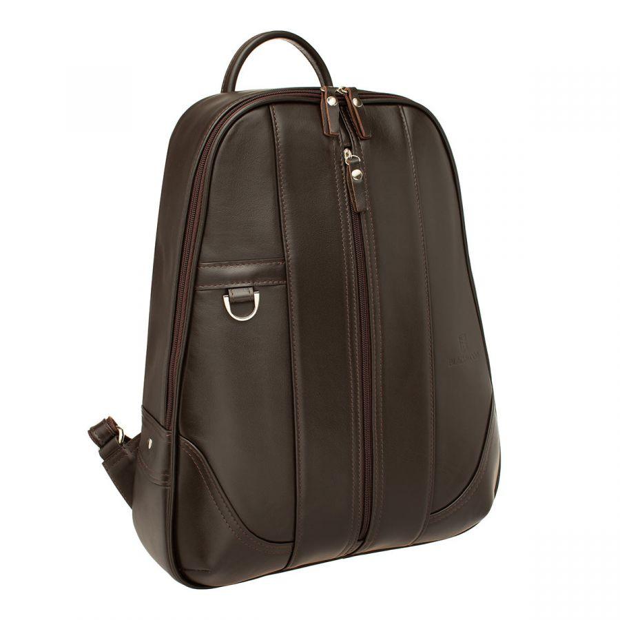 Мужской кожаный рюкзак Blackwood Anfield Brown