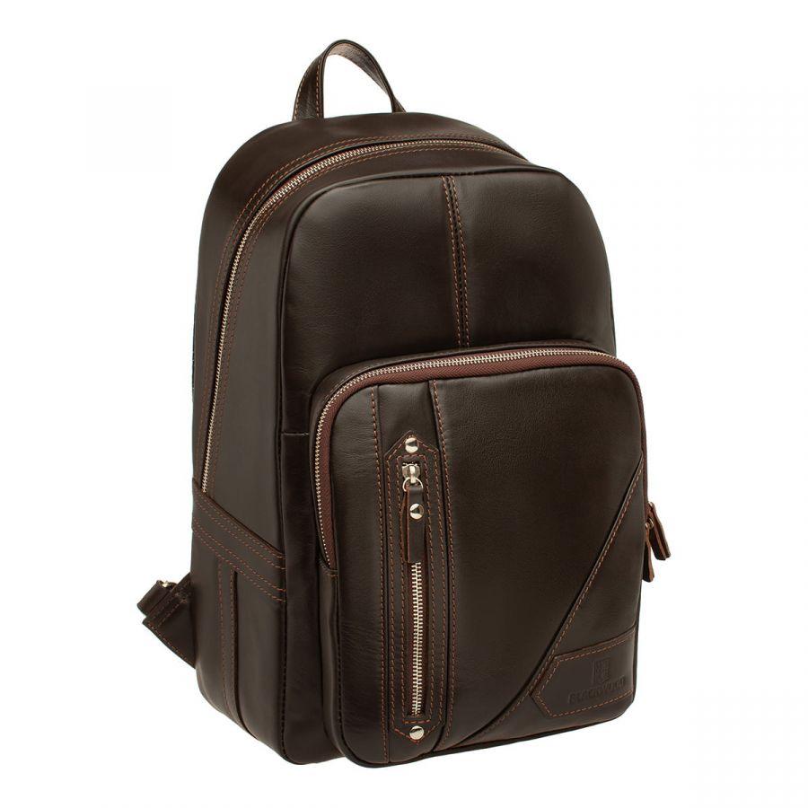 Мужской кожаный рюкзак Blackwood Linford Brown