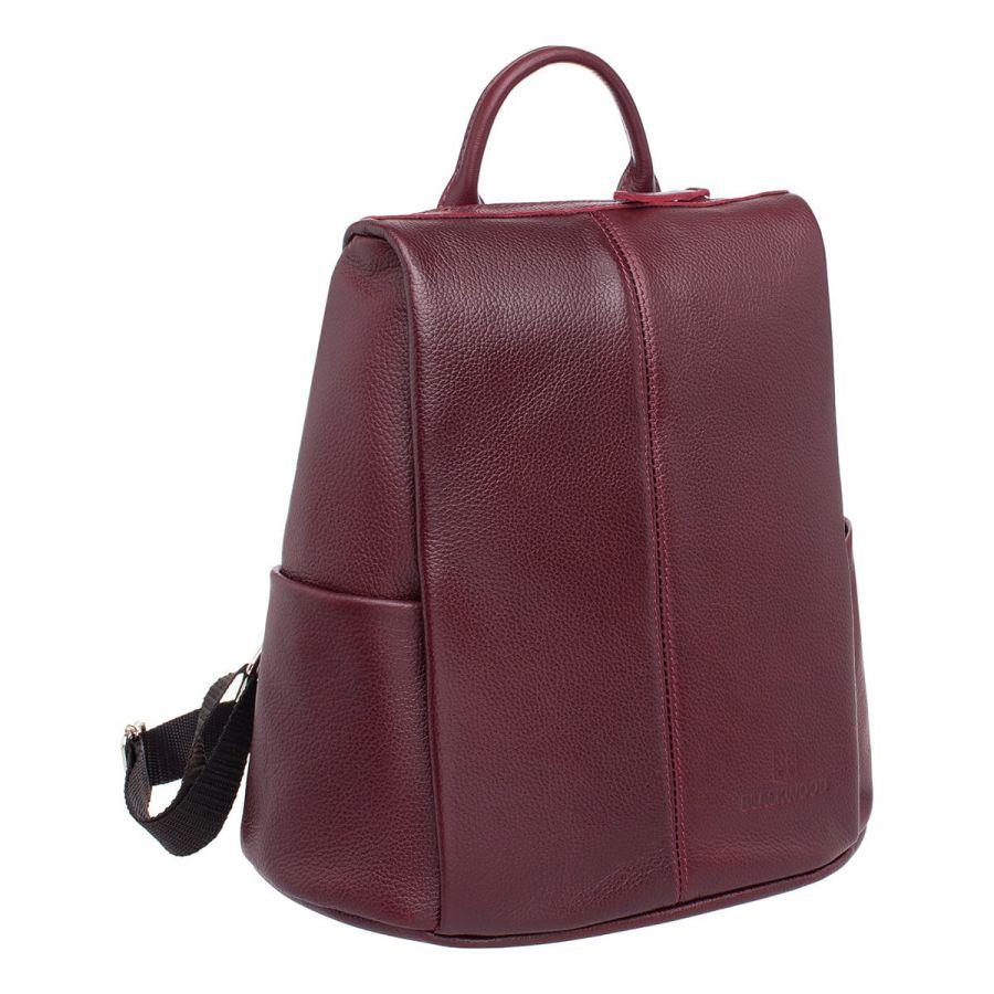 Женский кожаный рюкзак Blackwood Cabot Burgundy