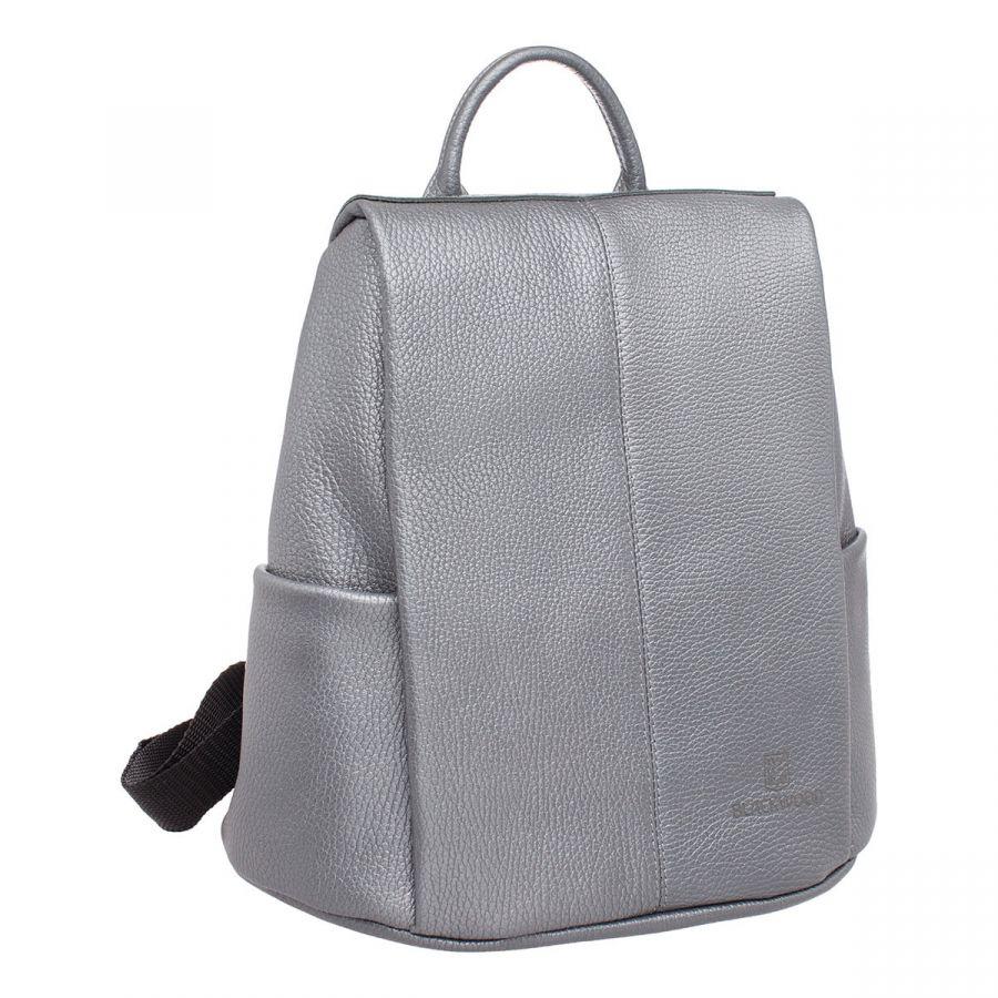 Женский кожаный рюкзак Blackwood Cabot Silver Grey