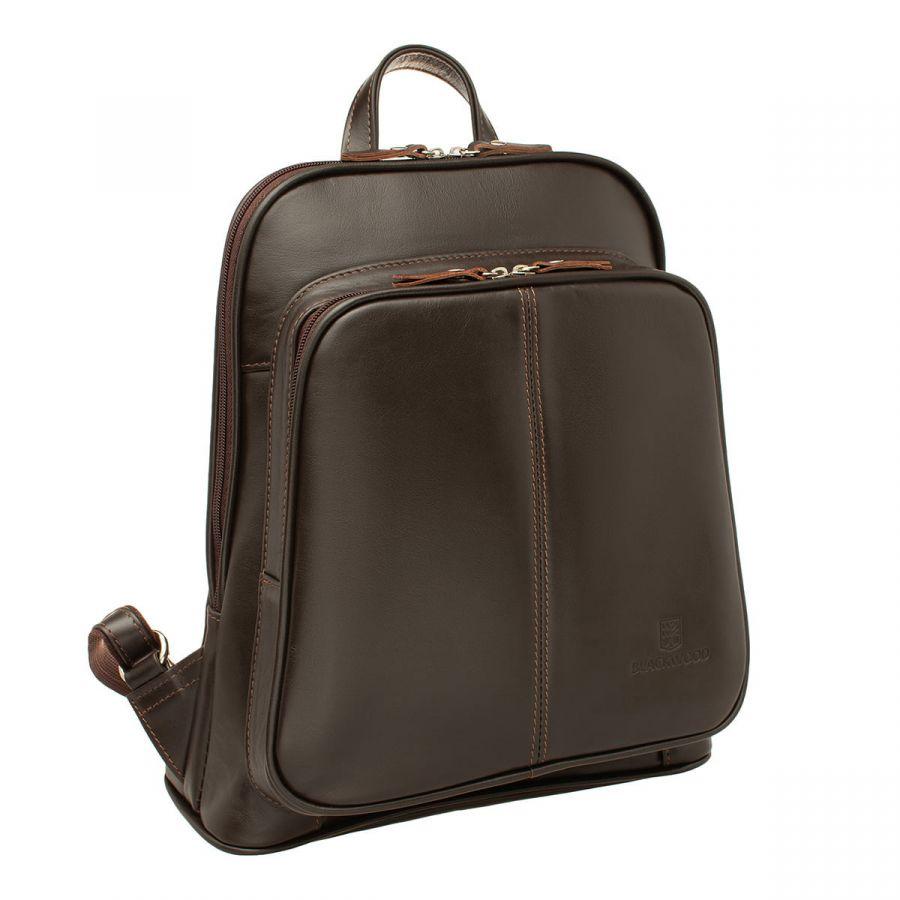 Женский кожаный рюкзак Blackwood Dairy Brown