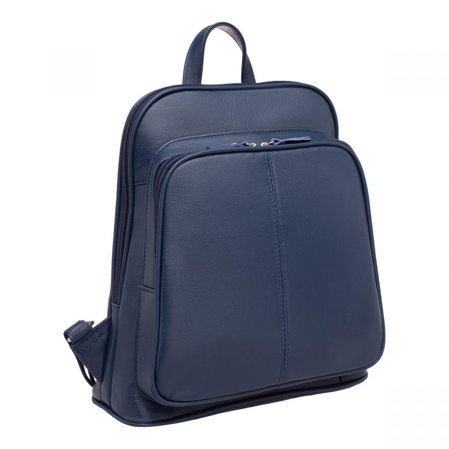 Женский кожаный рюкзак Blackwood Dairy Dark Blue