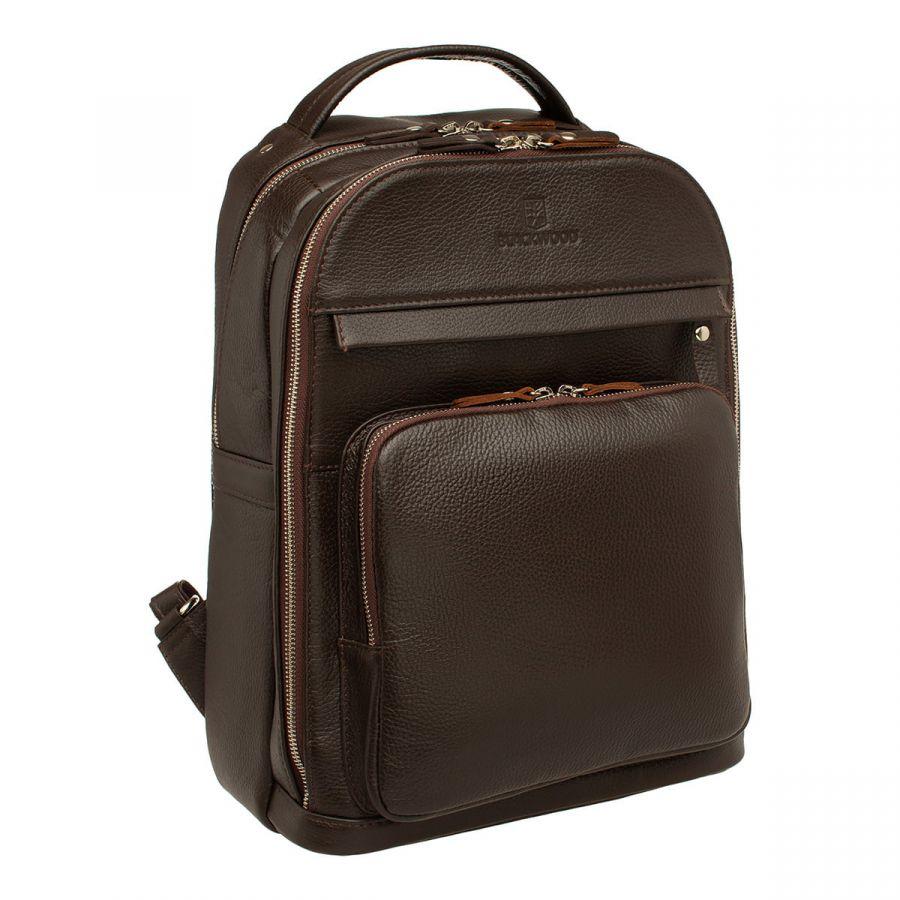 Мужской кожаный рюкзак Blackwood Garrard Brown