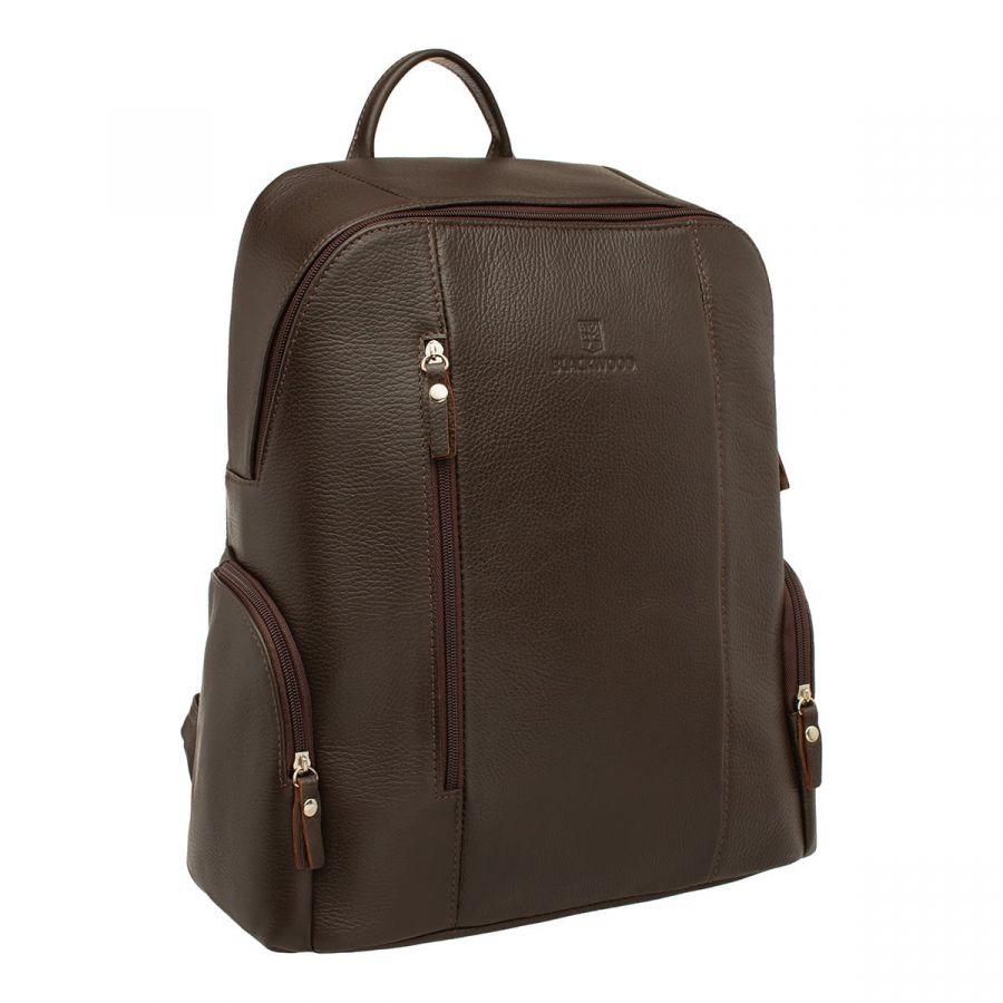 Мужской кожаный рюкзак Blackwood Divis Brown