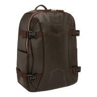 Мужской кожаный рюкзак Blackwood Carlos Brown