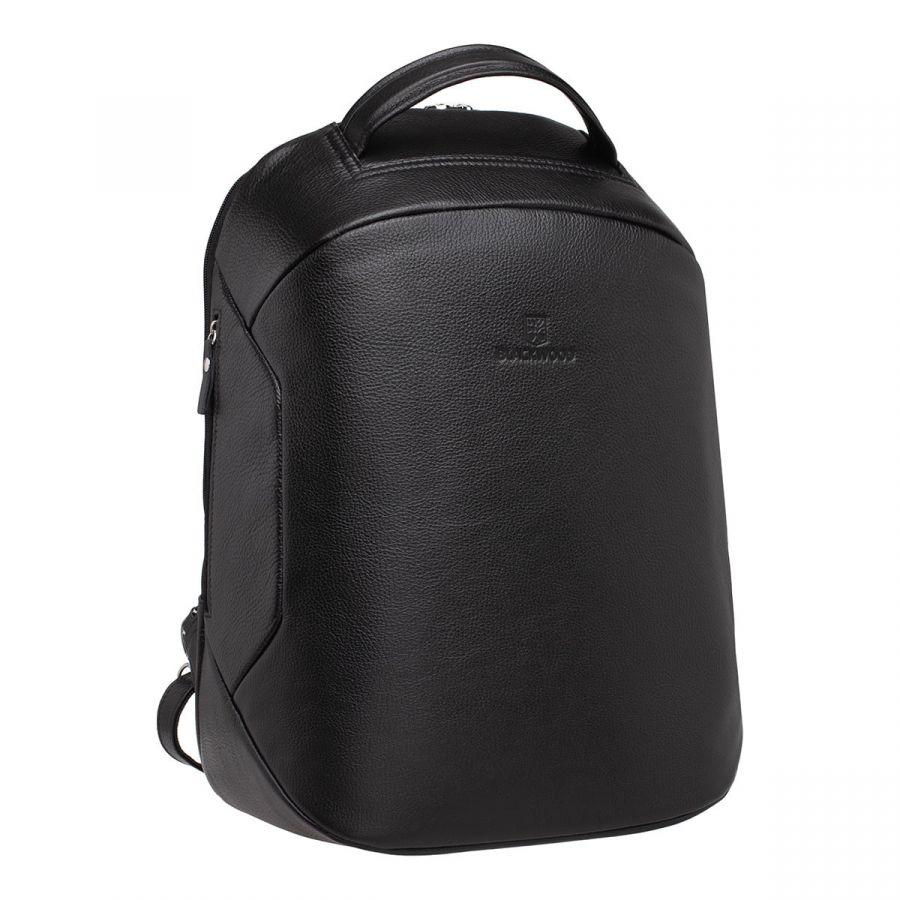 Мужской кожаный рюкзак Blackwood Kelross Black