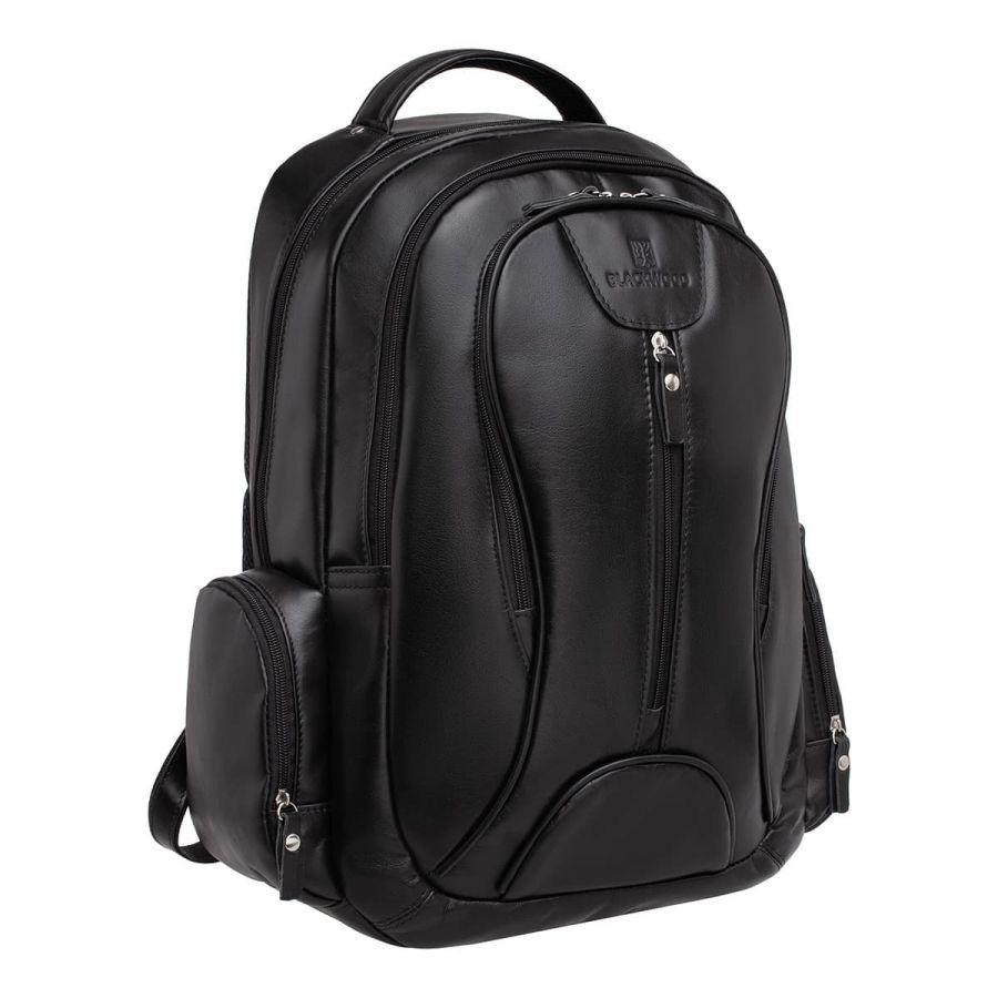 Мужской кожаный рюкзак Blackwood Malvern Black