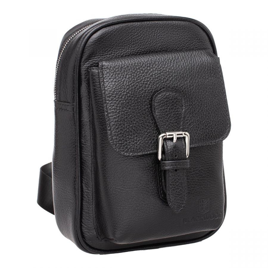 Рюкзак с одним плечевым ремнем Blackwood Dante Black