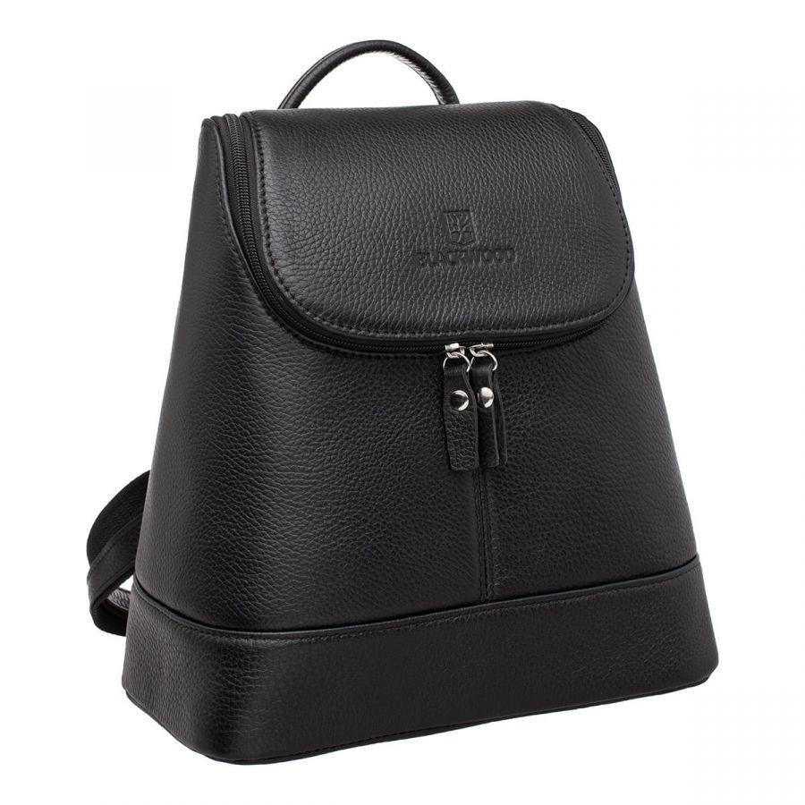 Женский кожаный рюкзак Blackwood Acre Black