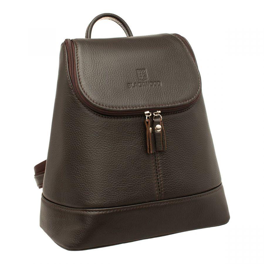 Женский кожаный рюкзак Blackwood Acre Brown