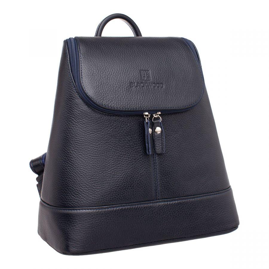 Женский кожаный рюкзак Blackwood Acre Dark Blue