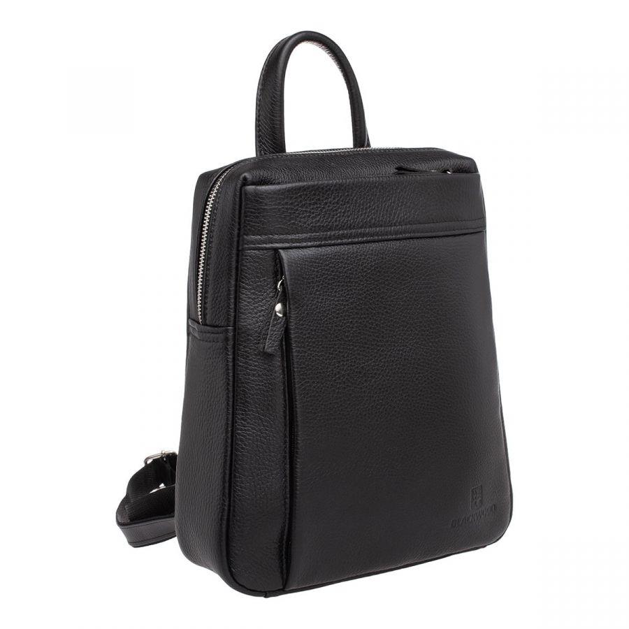 Женский кожаный рюкзак Blackwood Darcy Black